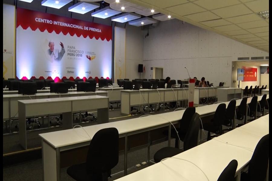 Papa Francisco: Conozca los servicios que brindarán los Centros Internacionales de Prensa