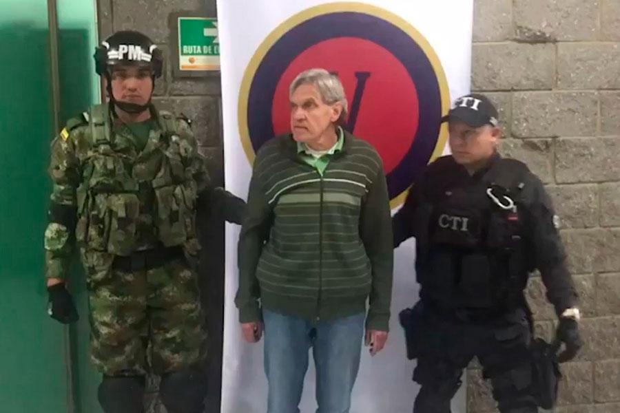Capturan a líder del ELN sospechoso de atentados en Colombia