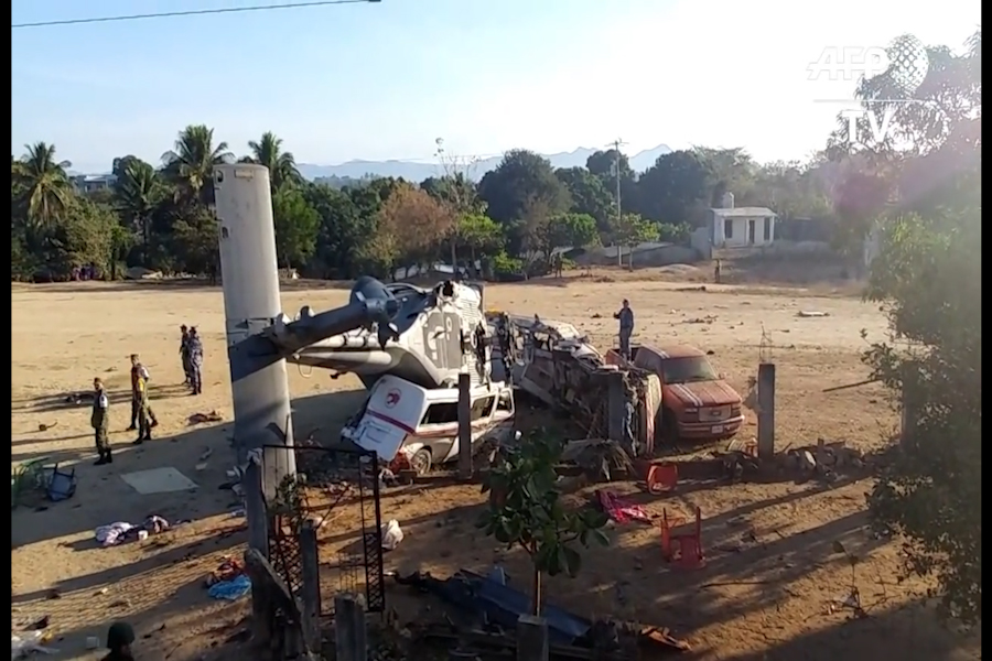 México: trece muertos en accidente de helicóptero de gobierno