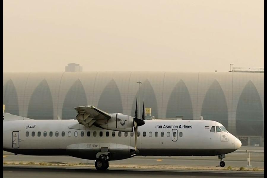 Un avión se estrella en Irán con 66 ocupantes
