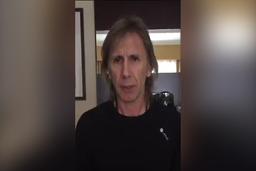 Ricardo Gareca expresa condolencias por muerte de Daniel Peredo