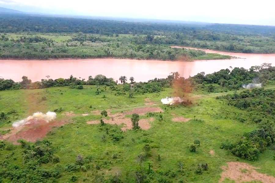 Operación Troya 2018 destruyó pistas clandestinas usadas para el narcotráfico
