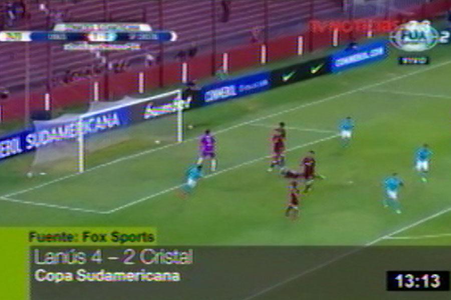 Lanús venció 4-2 a Sporting Cristal por la Copa Sudamericana