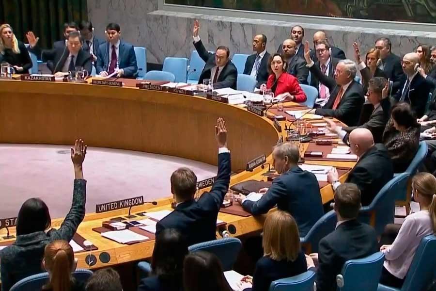 Consejo de Seguridad de la ONU respaldó cese al fuego en Siria
