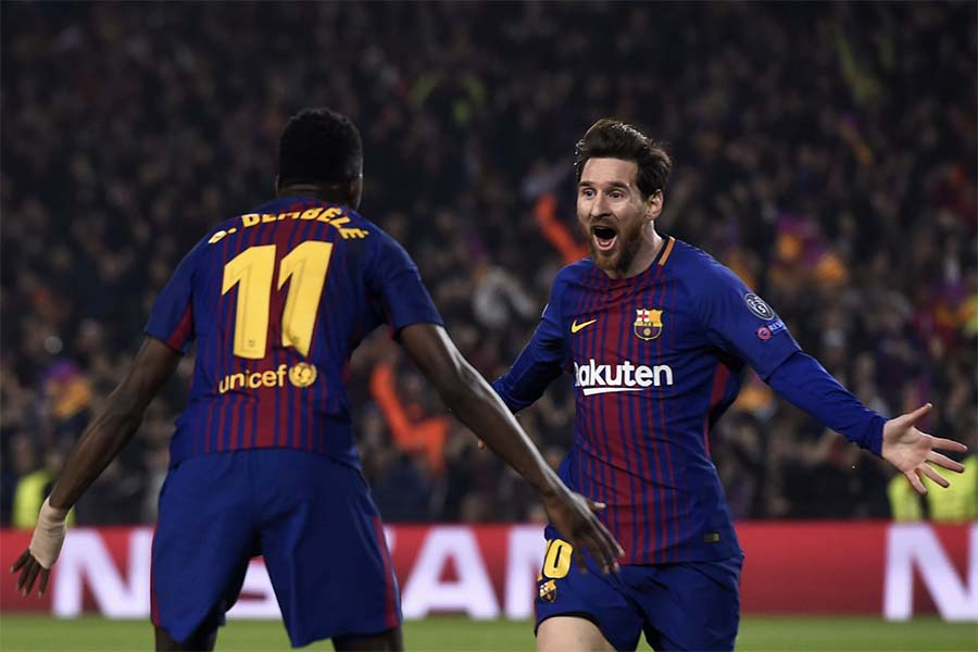 Barcelona y Bayer ganan en la Champions League