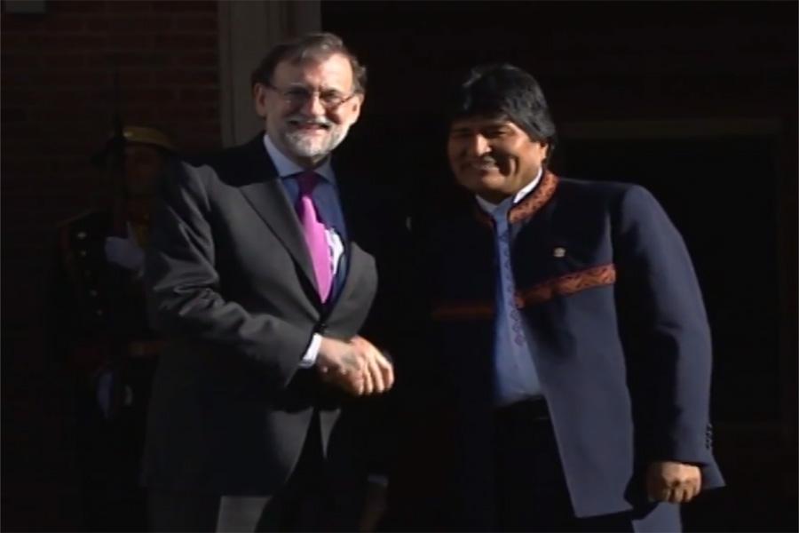 Evo Morales pide para Bolivia parte de un tesoro español