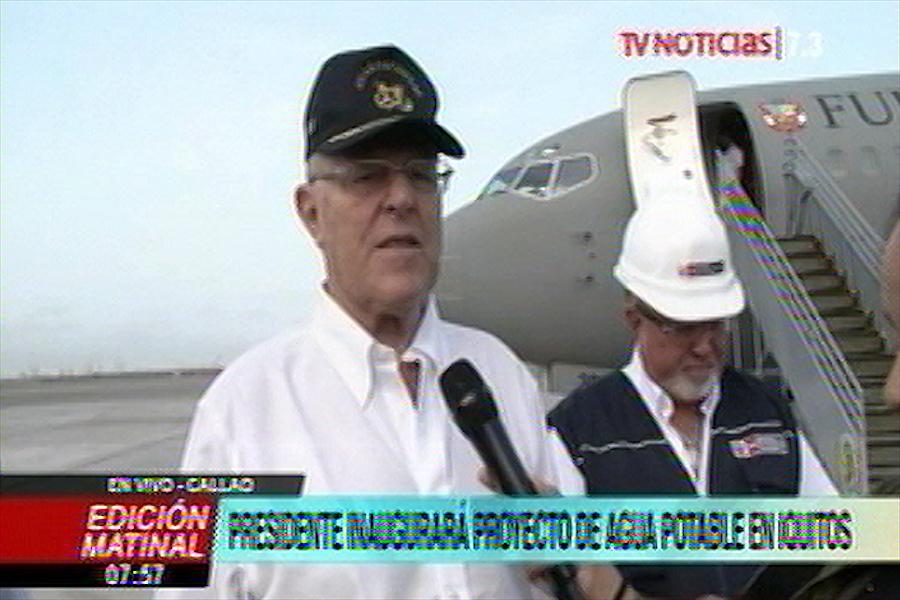Presidente inaugurará proyecto de agua potable en Iquitos