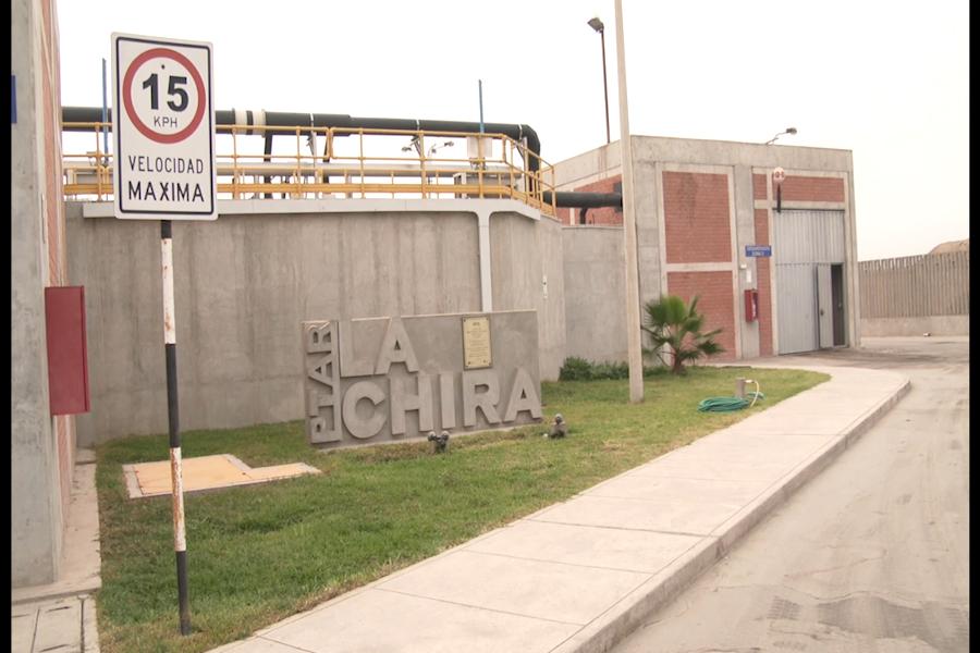 Planta de Tratamiento de Aguas Residuales La Chira permite recuperar playas