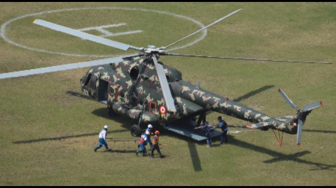 1a brigada multipropósito exhibe potencial operativo para enfrentar desastres naturales