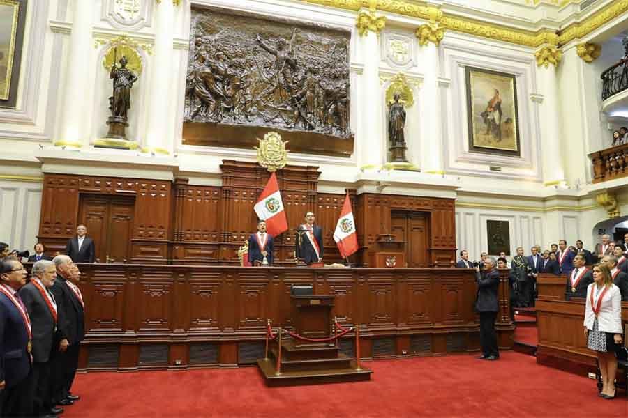 Presidente Vizcarra llama a la unidad para construir el futuro del Perú