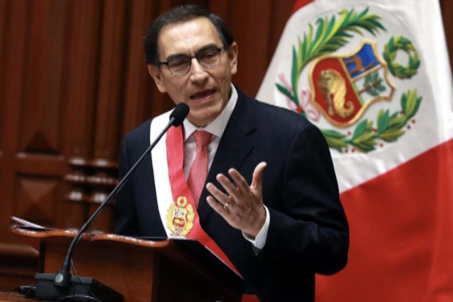 Martín Vizcarra propone pacto social para el desarrollo del país