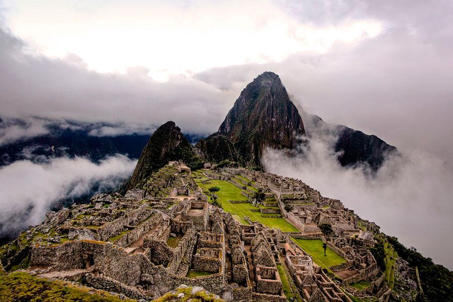 Machu Picchu: así protegen el hundimiento del piso de la ciudadela