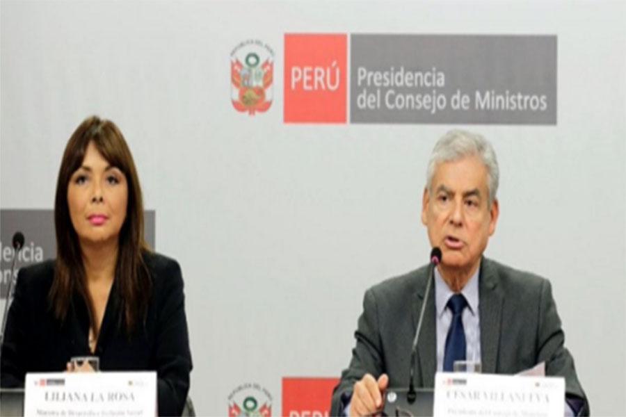 Gobierno aprueba S/. 2,300 millones para obras en regiones, informa Villanueva
