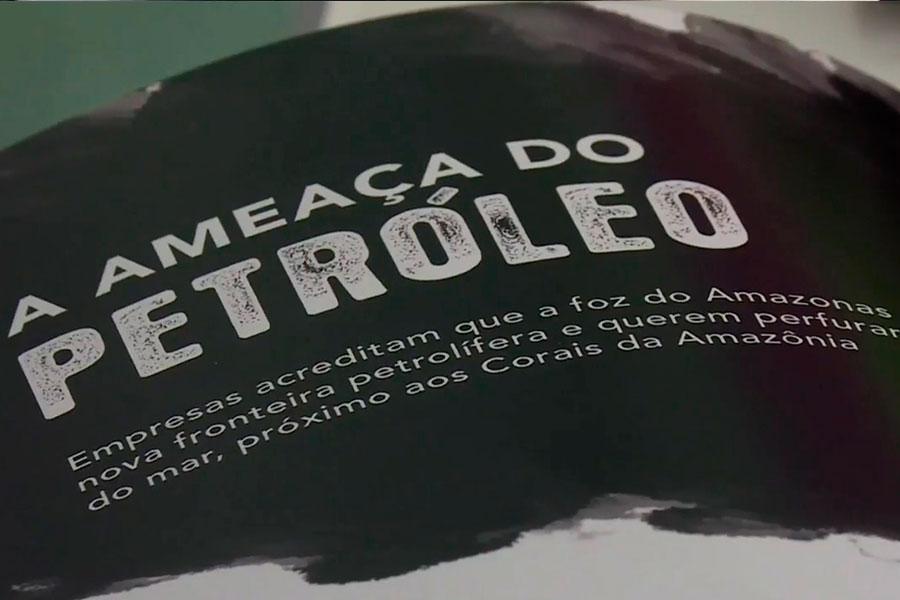Greenpeace pide suspender exploración petrolera en Brasil
