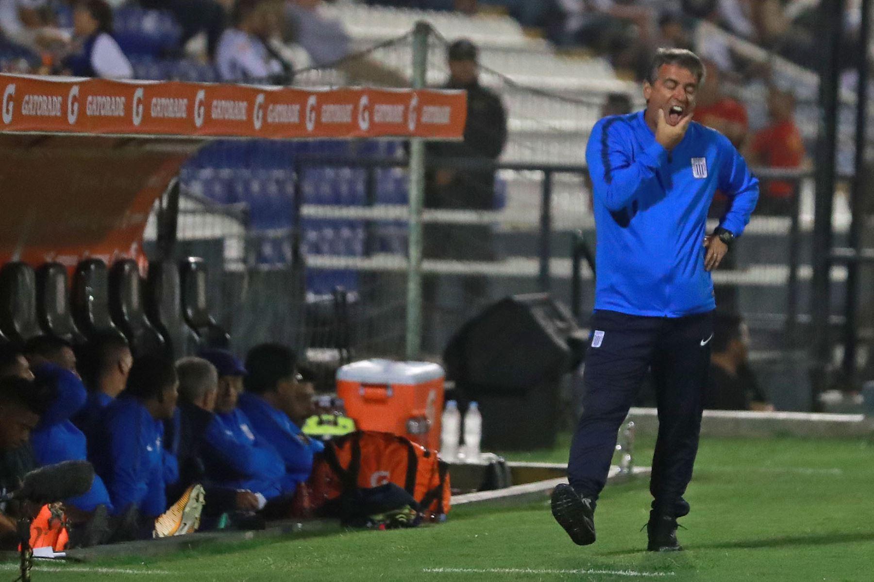 Alianza Lima: técnico Bengoechea asegura ser el único culpable de la derrota