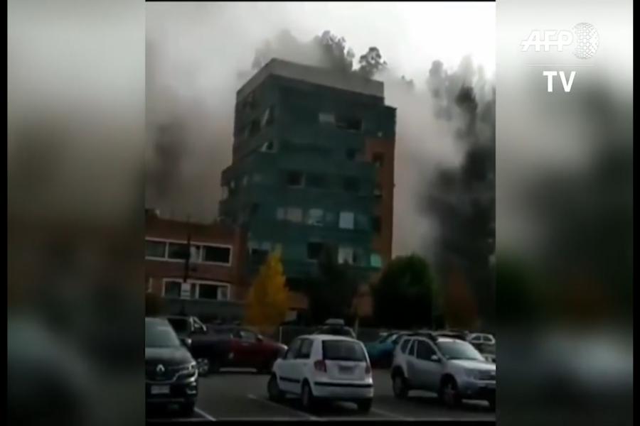 Chile: explosión de gas en clínica deja 3 muertos y 50 heridos