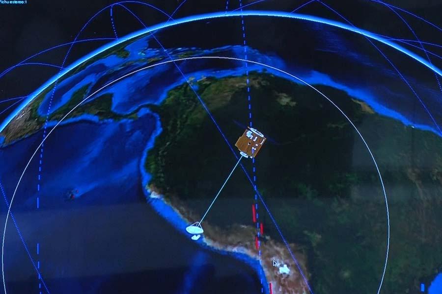 ¿Cómo se accede a las imágenes de Perú SAT-1?