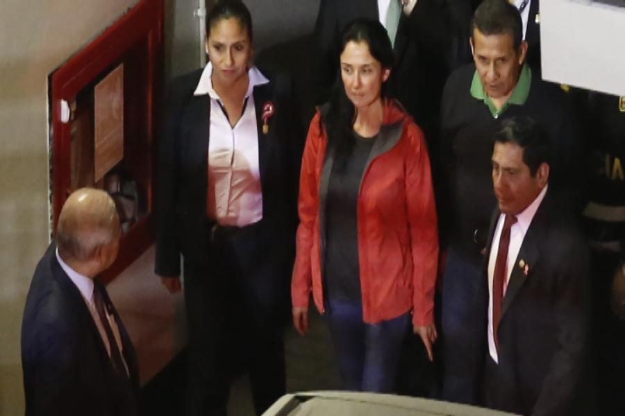TC falla a favor de revocar prisión preventiva a esposos Humala