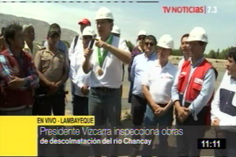 Vizcarra: Cambio de autoridades no debe paralizar la reconstrucción