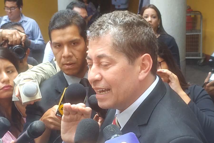 Eloy Espinosa: no había elementos para la prisión preventiva de Humala y Heredia