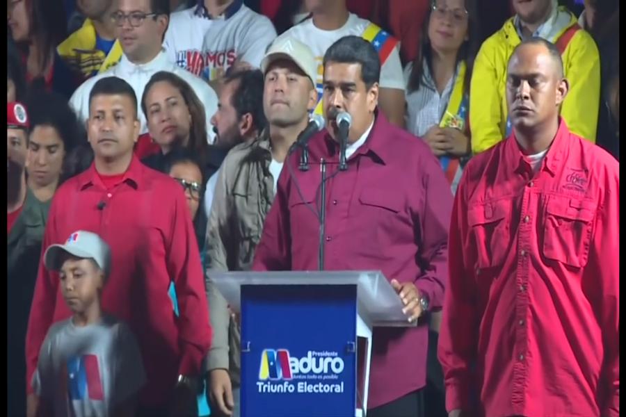 Venezuela: Maduro fue reelecto en comicios