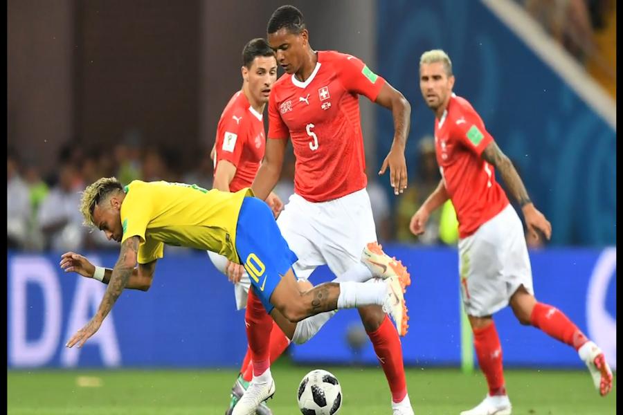 Brasil empató con Suiza por el Grupo E