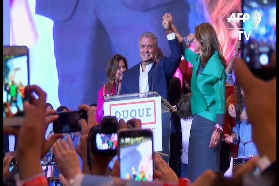 Colombia: Iván Duque es elegido presidente