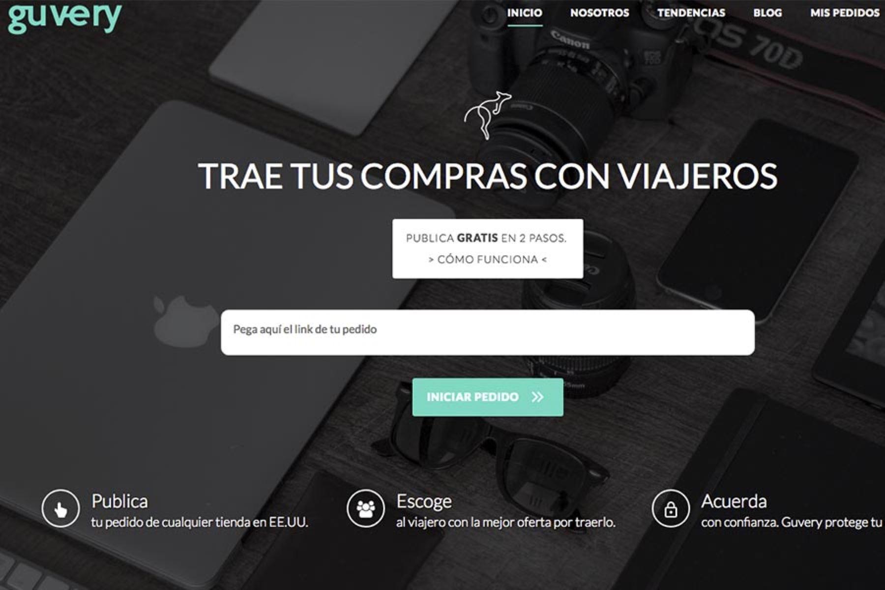 Startup peruana diseña plataforma para compras en Estados Unidos
