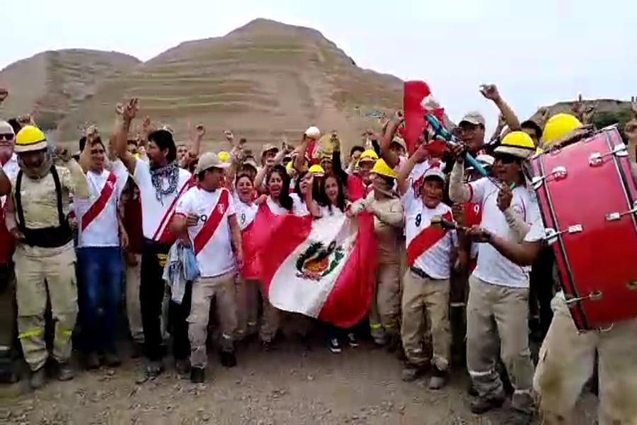 Ciudadela Chan Chan alienta a la selección para el Perú-Francia