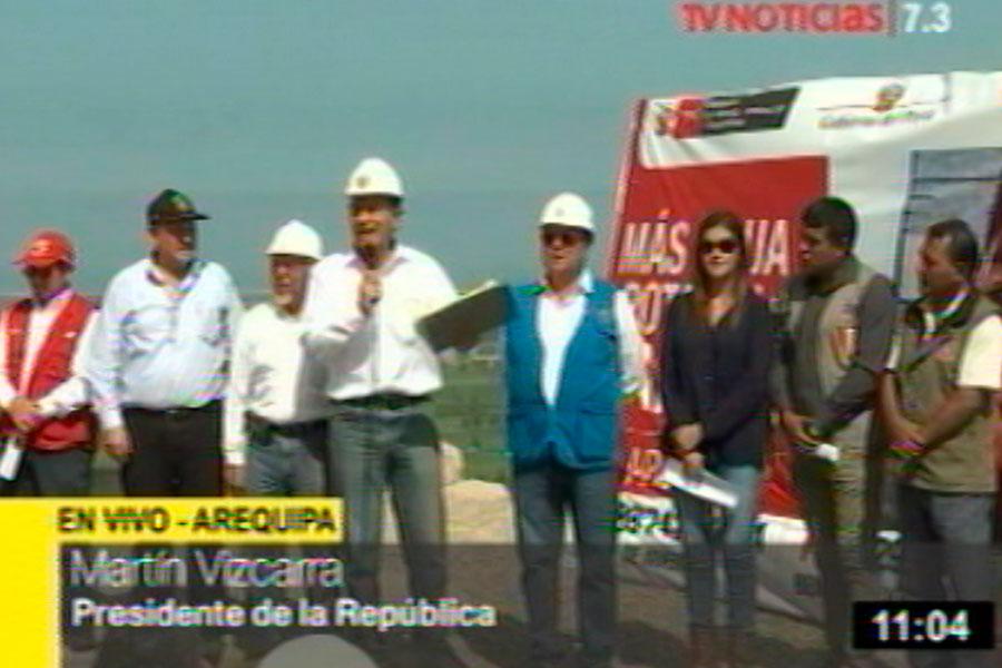 La prioridad del Gobierno es el agua potable, la salud y educación, afirma Vizcarra
