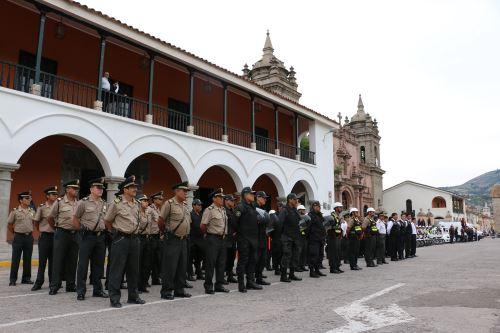 La Policía garantizará la seguridad durante las actividades previstas en Ayacucho.