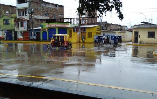 Se espera presencia de lluvias intensas en varias zonas de la costa.