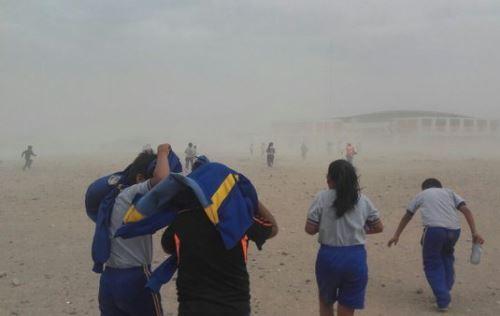 Vientos generarán levantamiento de polvo o arena en zonas abiertas.