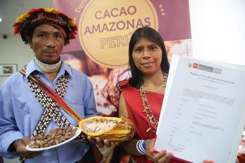 El Cacao Amazonas Perú es uno de los productos que recibió la denominación de origen.
