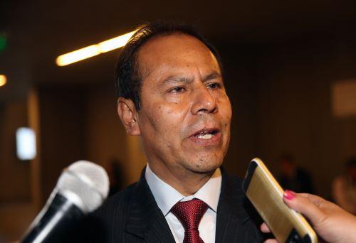Wilber Venegas destacó que gracias a las regalías mineras se pudo invertir en el desarrollo de Apurímac.