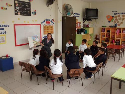 Actividades educativas logran niños más solidarios, con valores y preparados.