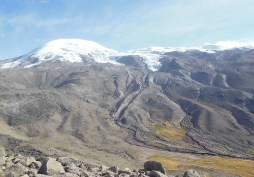 Los nevados de Arequipa, como el Coropuna, sufren el efecto del cambio climático.