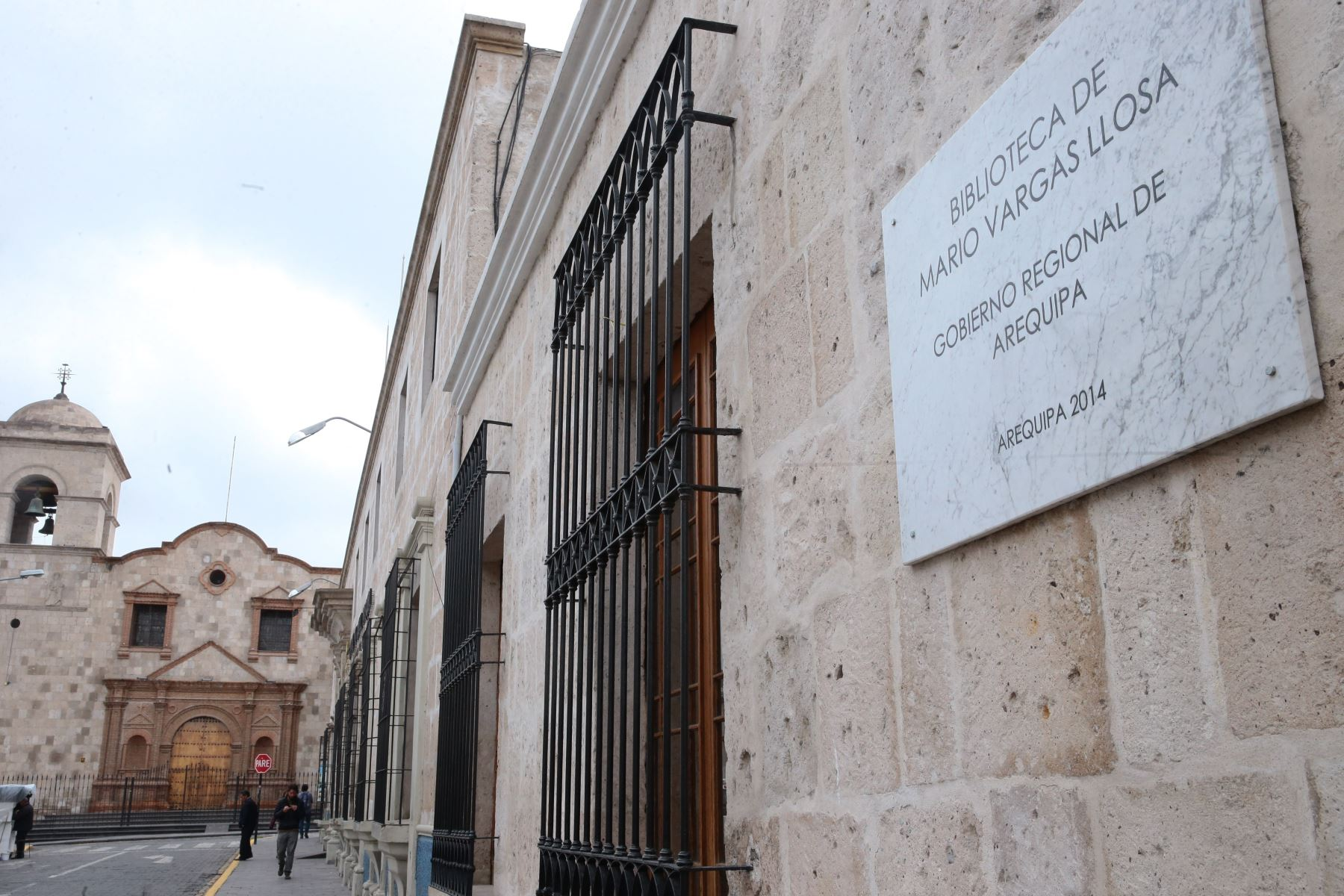 Biblioteca Regional Mario Vargas Llosa Foto: ANDINA/Carlos Lezama