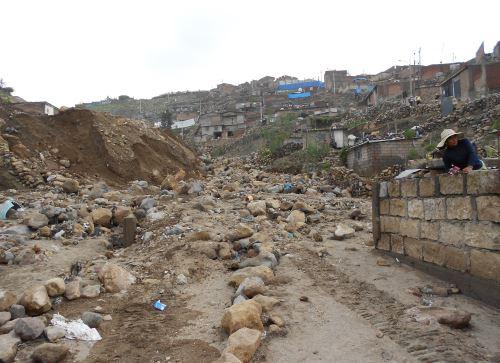 El cambio climático agudiza los eventos naturales en zonas sensibles como Arequipa.