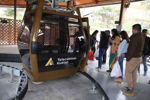 El teleférico de Kuélap dio un impulso gigantesco a la llegada de turistas a Amazonas.
