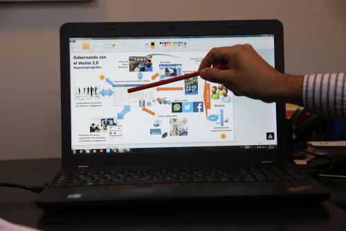 Proyecto piloto en Piura utilizará herramientas digitales y plataformas digitales.