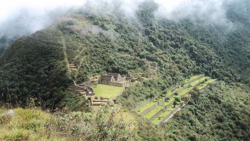 Choquequirao tiene un potencial turístico que se necesita explotar mejor.