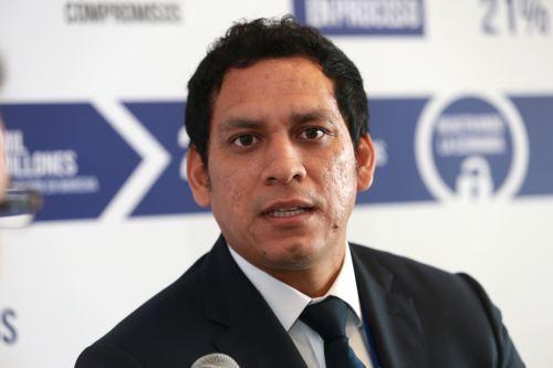 Gobernador regional de La Libertad, Luis Valdez Farías.