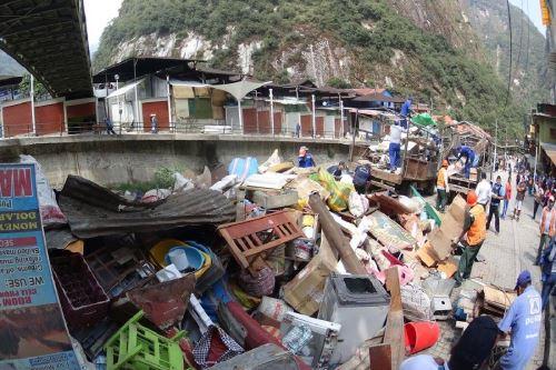 Autoridades buscan reducir la contaminación ambiental en el distrito de Machu Picchu Pueblo.