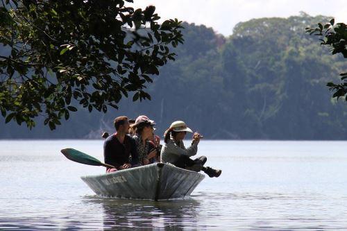 El lago Sandoval es uno de los atractivos más visitados de la Reserva Nacional Tambopata.