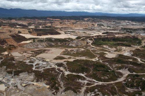 Madre de Dios es el departamento más afectado por la minería ilegal de oro.