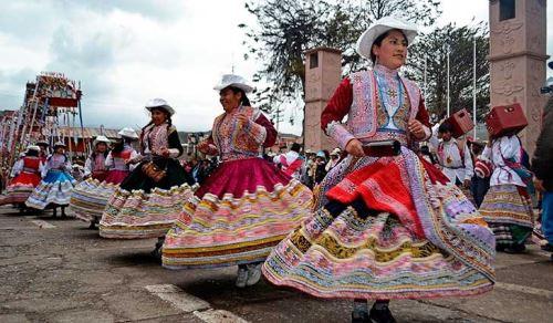 Danza del wititi del valle del Colca es un atractivo de la región Arequipa.