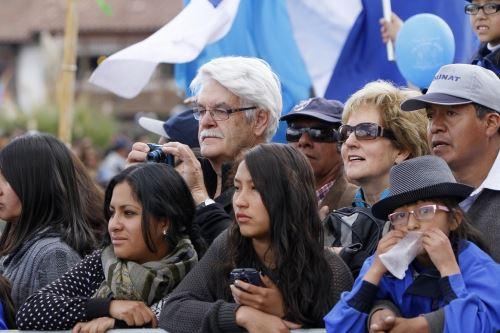 El Mundial Rusia 2018 no afectó el flujo de turistas que visita Cusco.