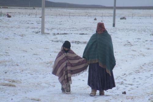 Un nuevo periodo de bajas temperaturas se registrará en las zonas altas de la sierra sur.