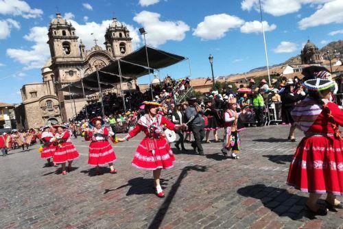 En junio y julio se vivieron fiestas en Cusco que fueron celebradas por los turistas.
